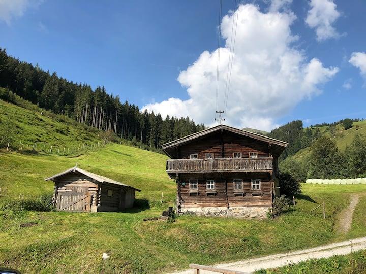 Hütte mit Charme in den Bergen