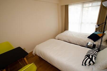 安全、便利、プライベート確保ワンルームマンションのお部屋2-C