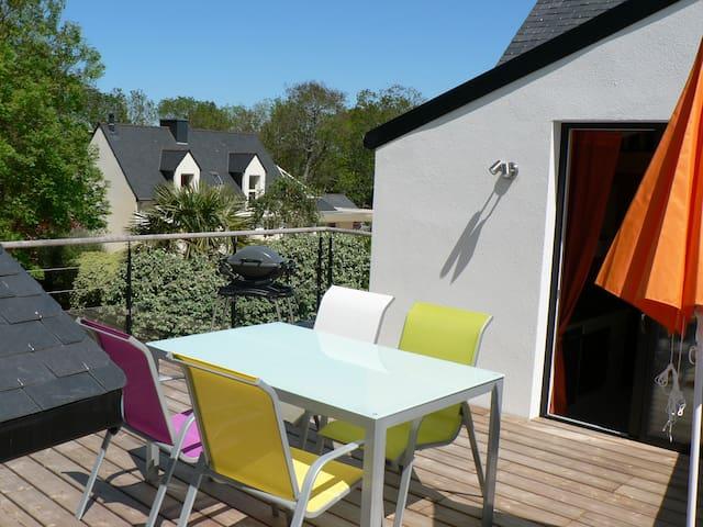 Grand studio à proximité de la mer - Sarzeau - Apartamento