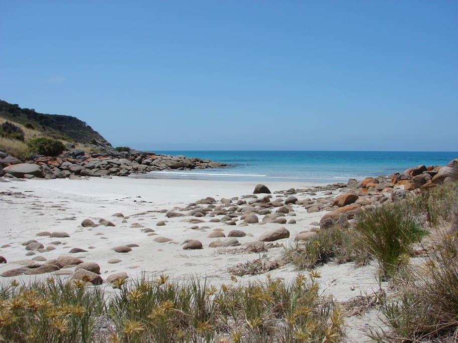 Our very own pristine secluded beach