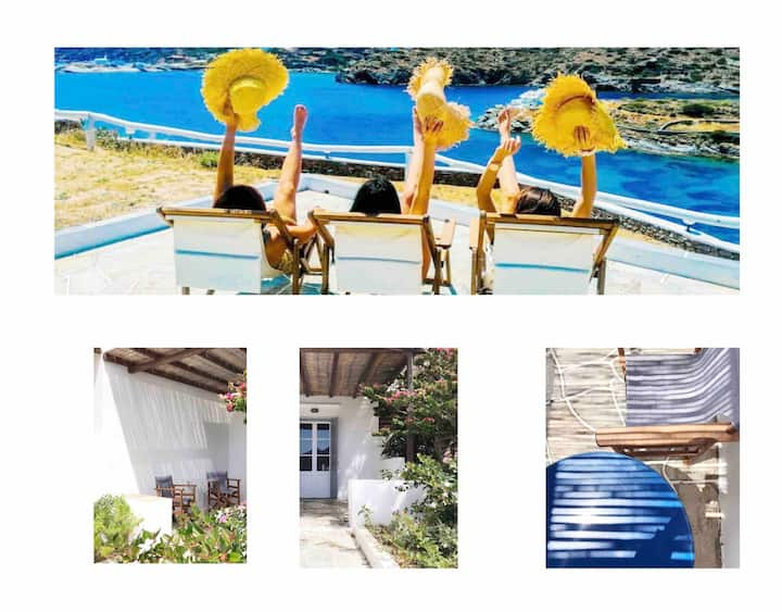 "BeachFront Studio ""Almira"" & ""Rigani""   in Sifnos!"