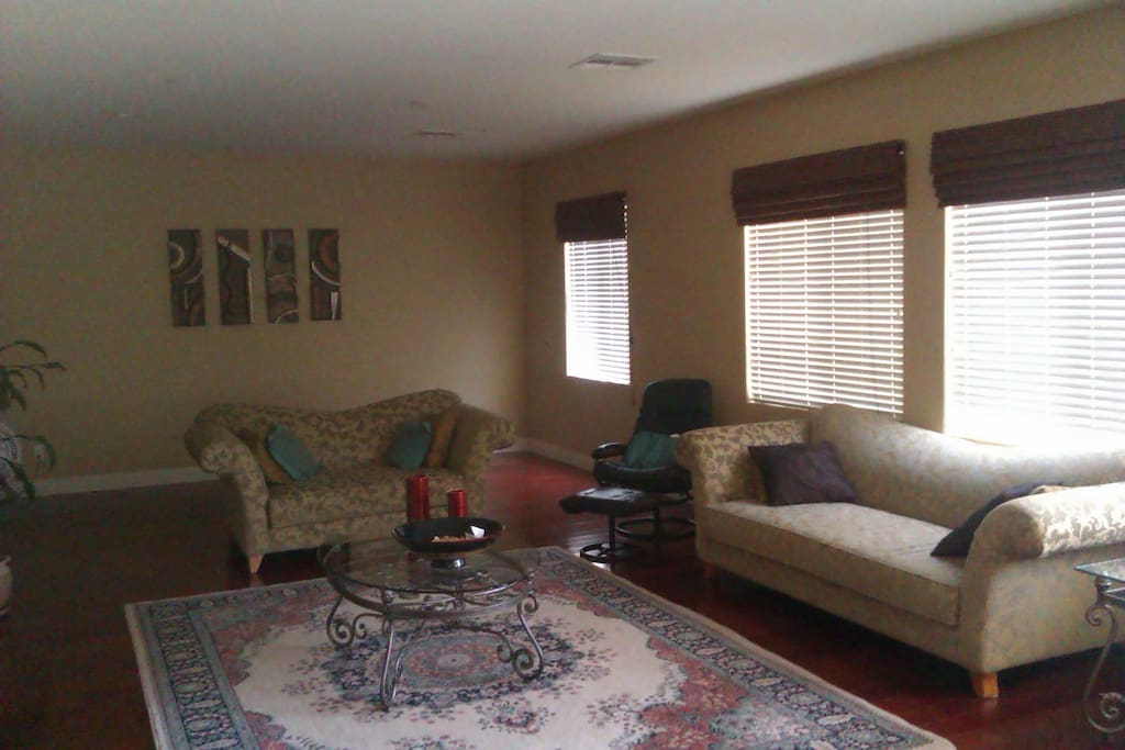 Huge Living Room with Couch