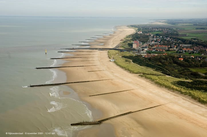 Lovely apartment near the beach - Cadzand - Apartamento