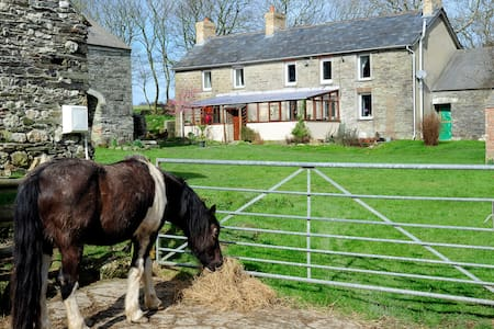 Old Stone Farmhouse in West Wales - Penparc