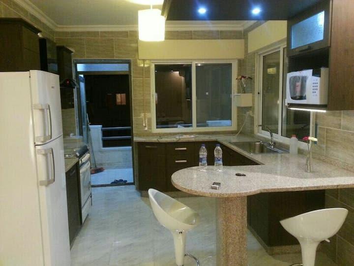 Luxury furnished apartment in irbid