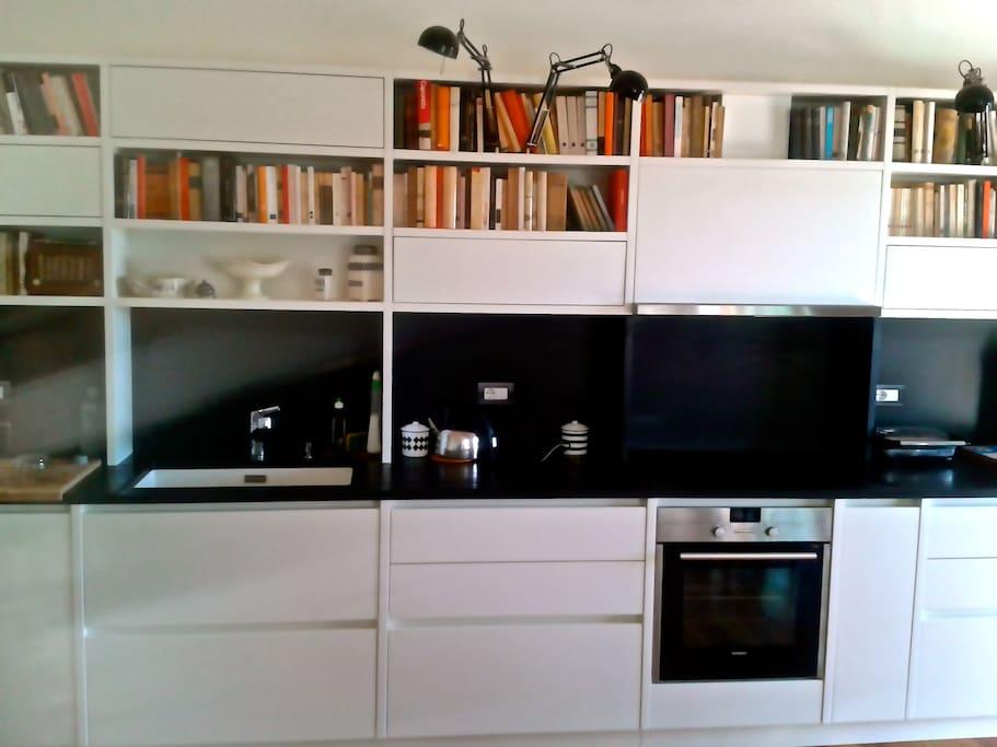 Cucina - libreria