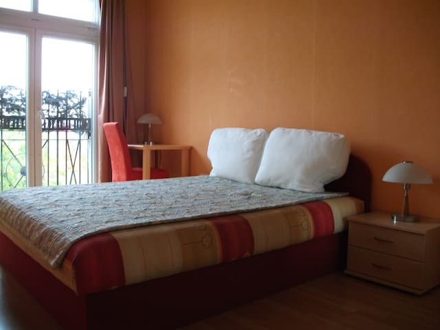 Silent room, downtown within 10 min - Budapest - Leilighet