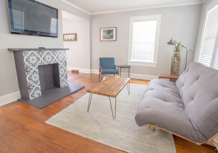 Renovated Home w/ Porch & Yard in Heart of Midtown
