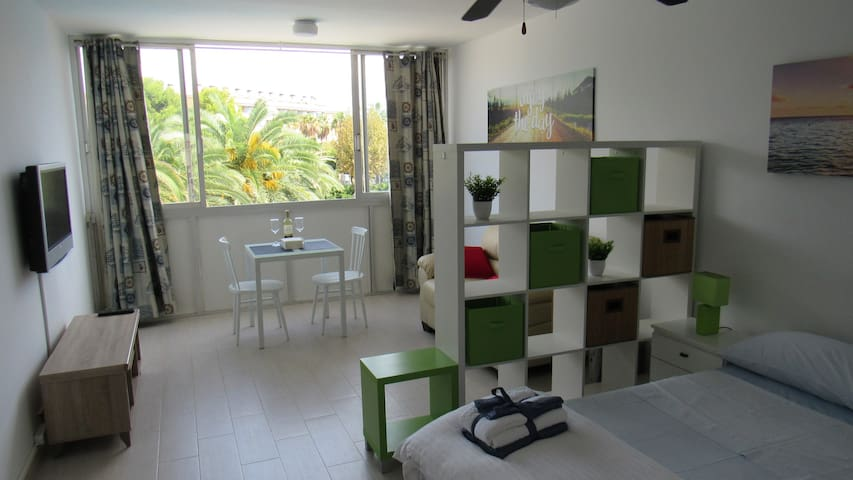 Studio located 100m. from the beach