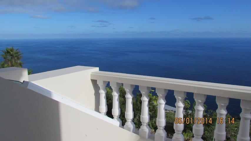 Luxurious house overlooking ocean