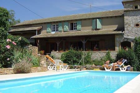 Le Colombé, hameau de Collonge à Lournand - Cluny