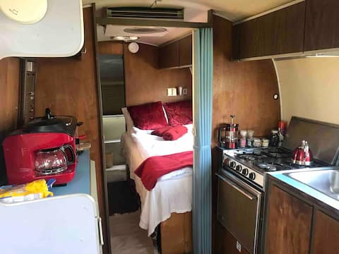 Sunol Airstream with private gazebo