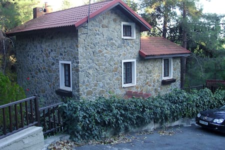 Luxury Stone House in Platres  - Pano Platres - Casa