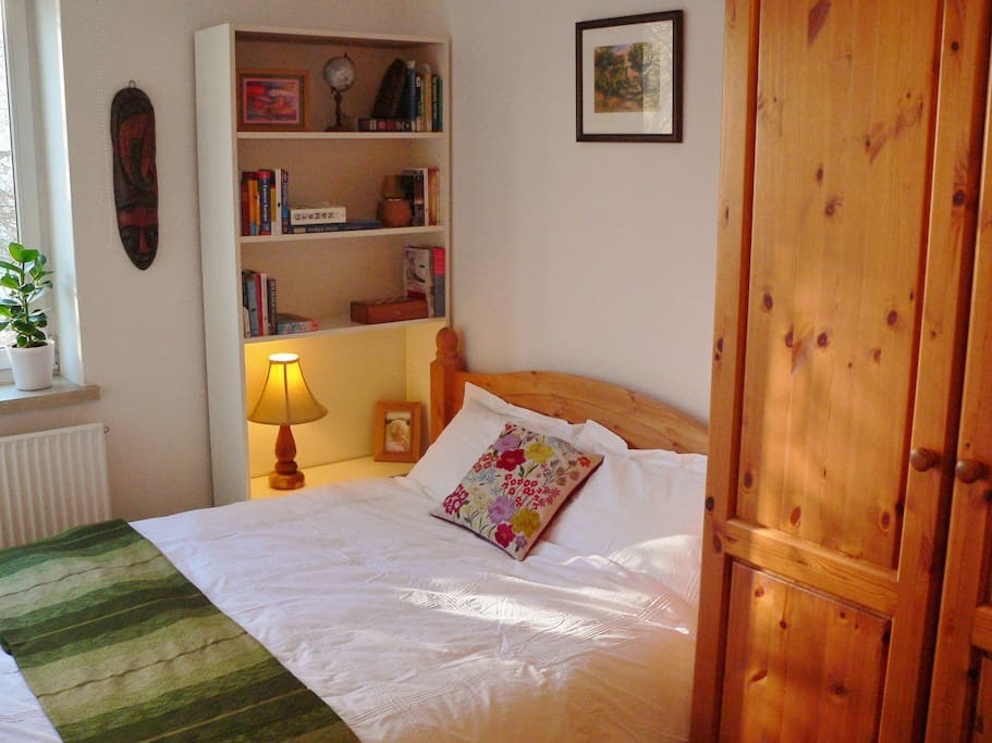 Welcoming and spacious double bedroom