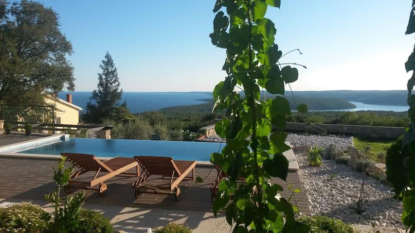 Apartment Olea with infinity swimming pool - Koromačno