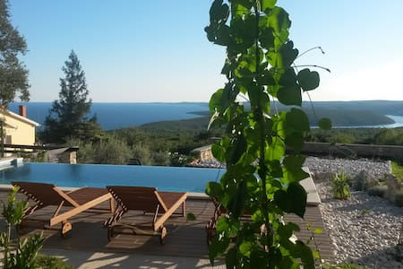 Apartment Olea with infinity swimming pool - Koromačno