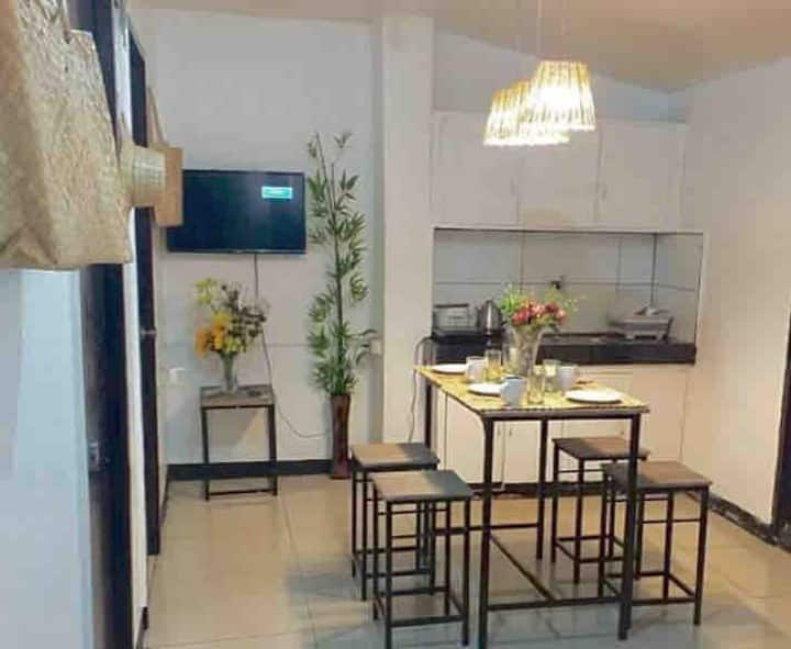 Fresh brand new 2 bedroom near airport with WiFi!