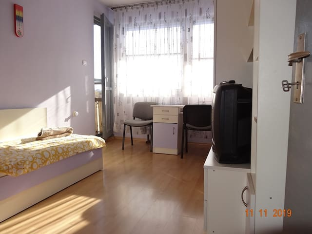 Cozy single room in the center of Ruse!