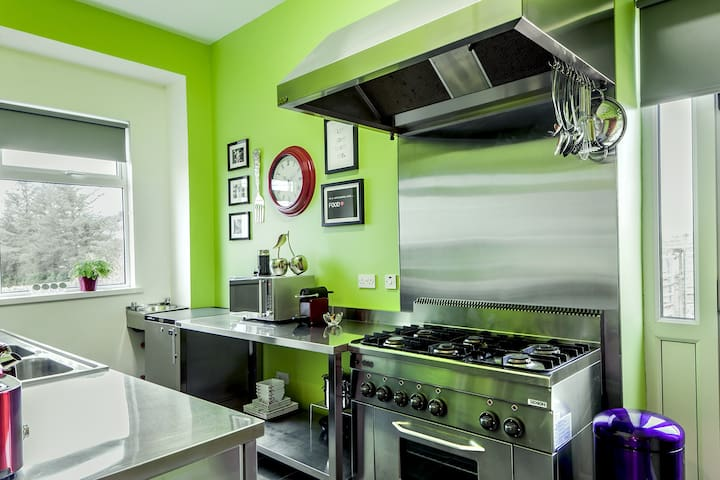 Professional Kitchen in The Artist's Cottage