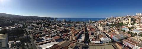 Flat in Valparaíso, amazing View- En Casa de Elena