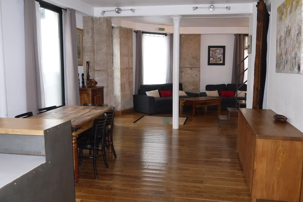 Vue living room -Salon