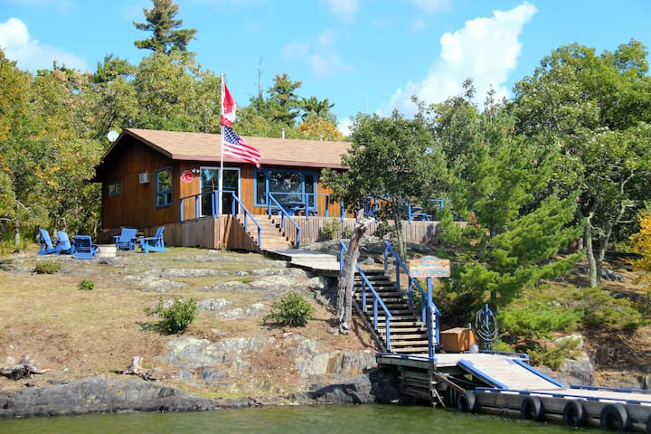 French Portage Outpost Cabin