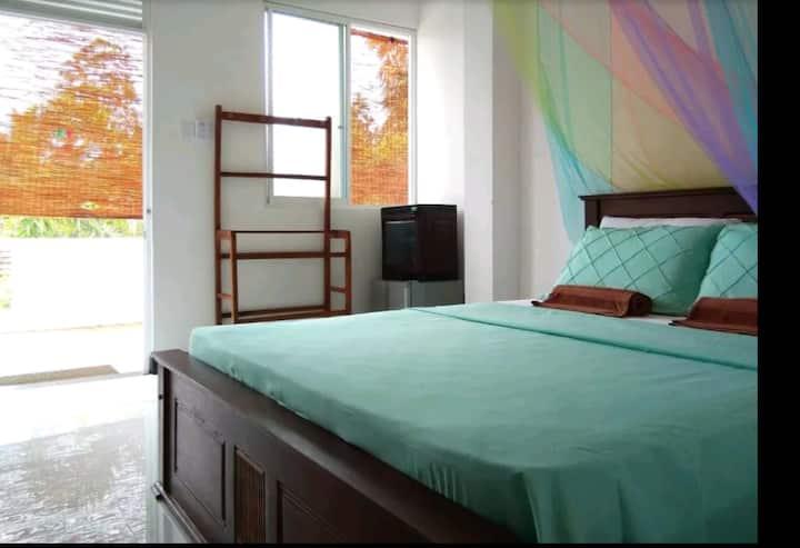 Blue Tiffany room @Madiha guest