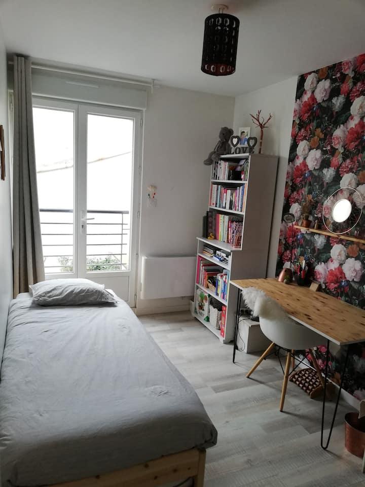 Chambre cosy dans charmante maison