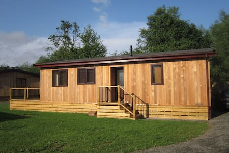 Riverside Holiday Lodge Rural Shropshire.