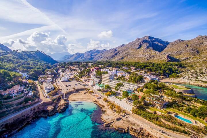 Cala Molins 5: nur 120m zum Strand, Klimaanlage! - Cala Sant Vicenç - Casa