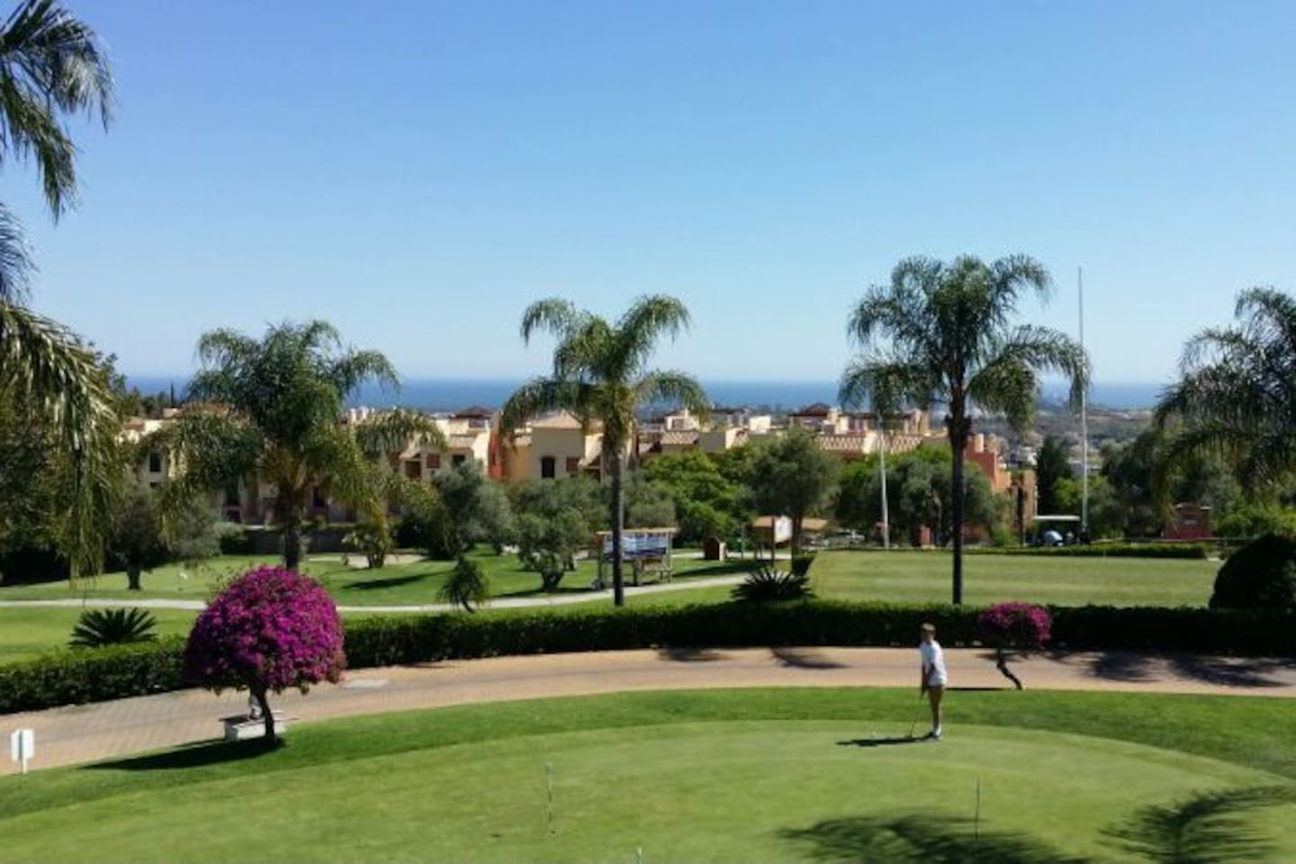 Views from the Club House to La Finca complex