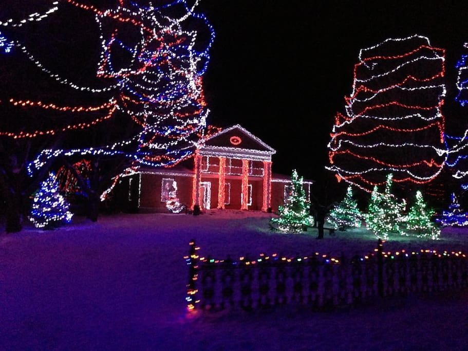 Alight at Night is a favourite destination with visitors. Upper Canada Village is decorated with nearly 1, 000,000 lights. Open for walking tours, wagon and carriage rides, on various nights through December and early January. We can arrange tickets.