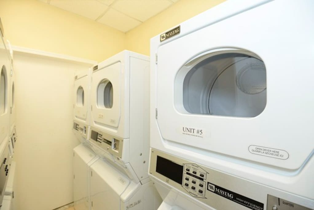 Your own washer and dryer - NOT shared!