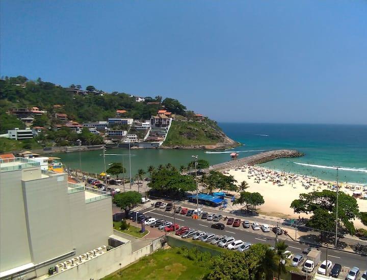Barra da Tijuca - Apart a Beira Mar Av. do Pepê