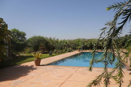 Villa domaine de 3 hectar bio - Sidi Abdellah Ghiat