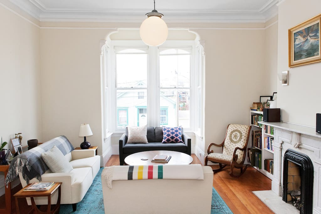 Sunny Spacious Edwardian Flat Apartments For Rent In San Francisco California United States: how much is a one bedroom apartment in san francisco