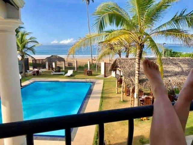 crystal resort dickwella.Suit room(sea view)