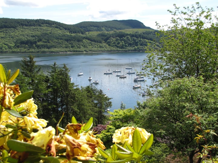 Room with The View of  Loch Craignish