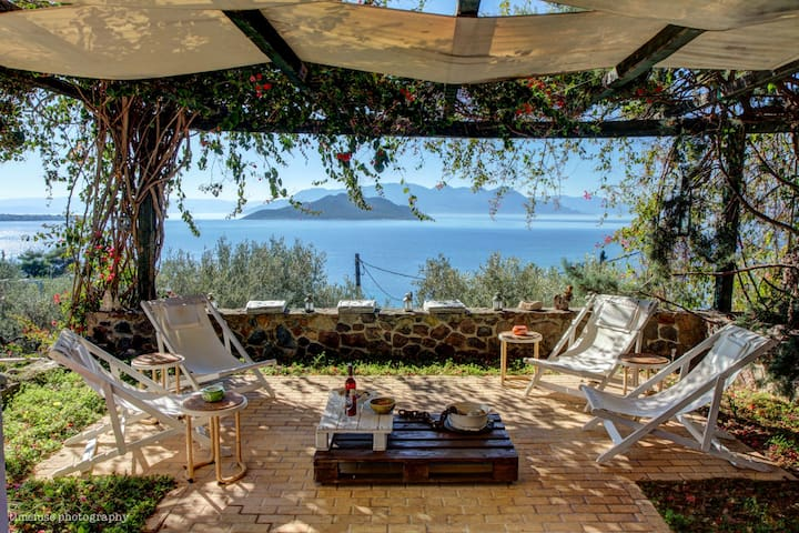 The Danae Sunset Villa, Aegina - Egina - วิลล่า