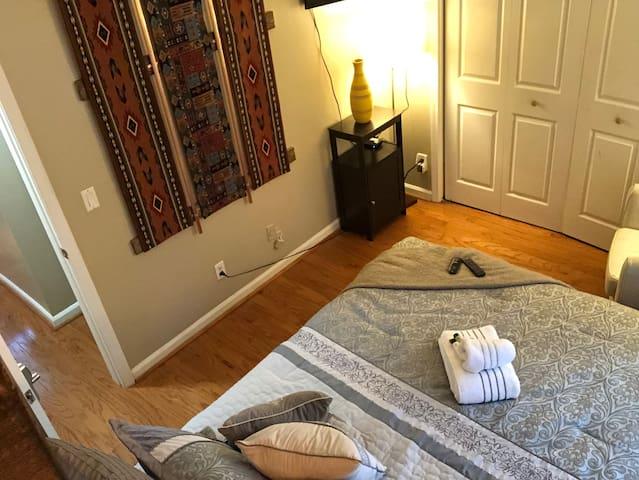 Bedroom from head side
