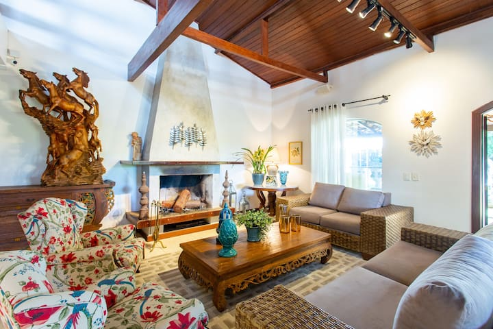 Luxurious & Comfortable  Exclusiva mansão 5 suítes