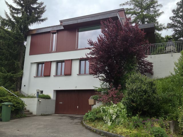 Temporary shared house near Zürich - Hedingen - บ้าน