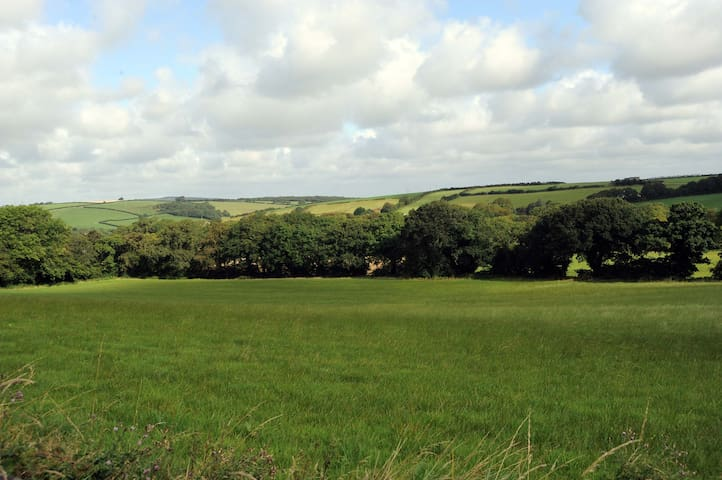 The Valley View in the centre of Cornwall -
