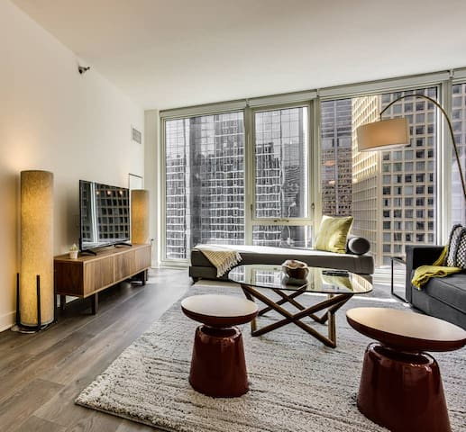 Luxury 2 Bedroom in the Heart of Chicago