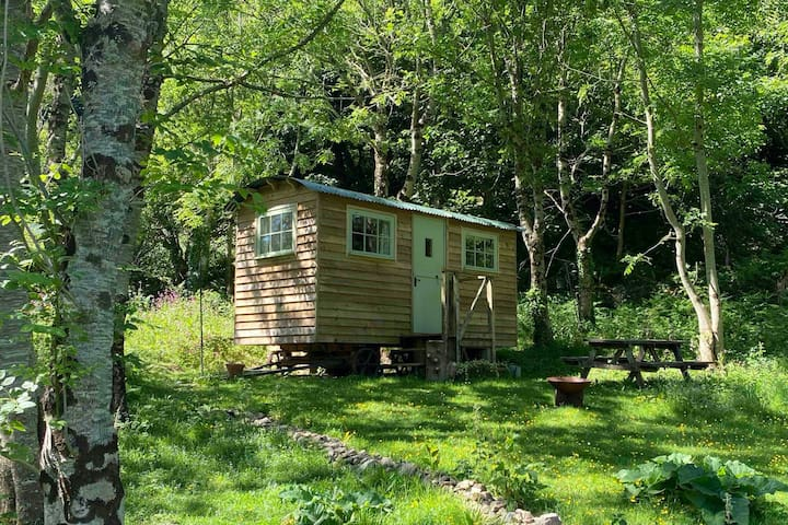 Cosy Shepherd's Hut in the Valley of Rocks
