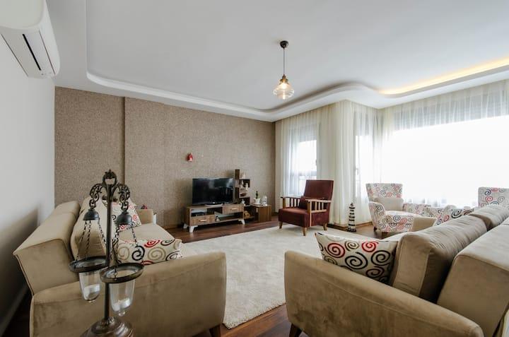 Sea view new apartment in Karşıyaka