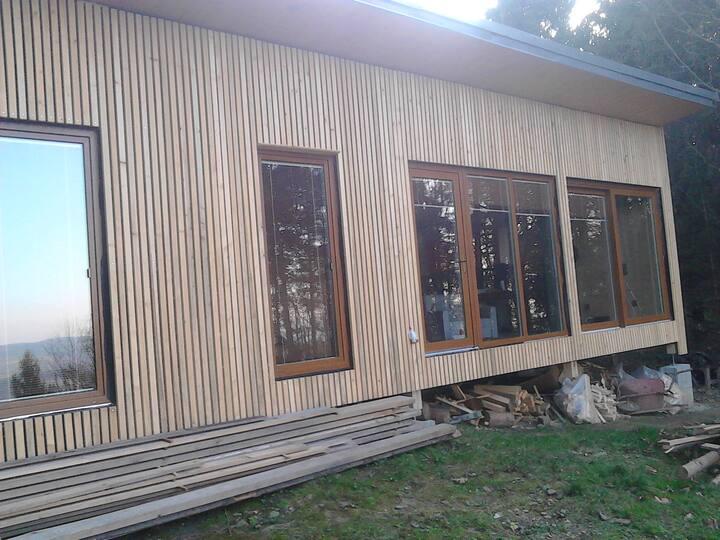exkluzivní chata  s výhledem do údolí