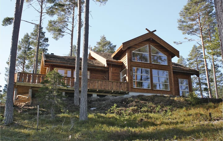 Beautiful home in Vrådal with Sauna and 4 Bedrooms