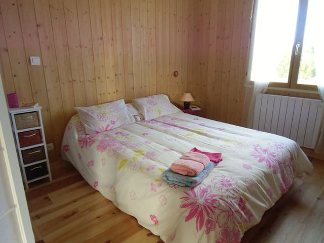Room in wooden house - Merignac - Casa na Terra