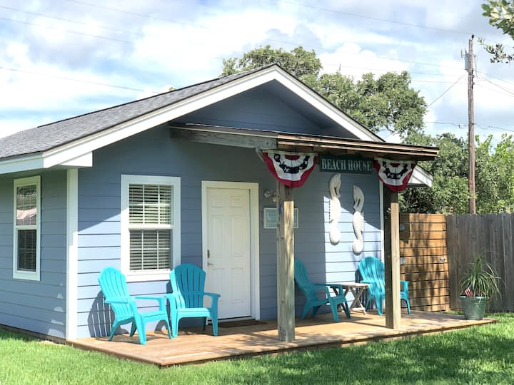 SeaStar Cottage in Lamar!  Goose Island Pier Open!
